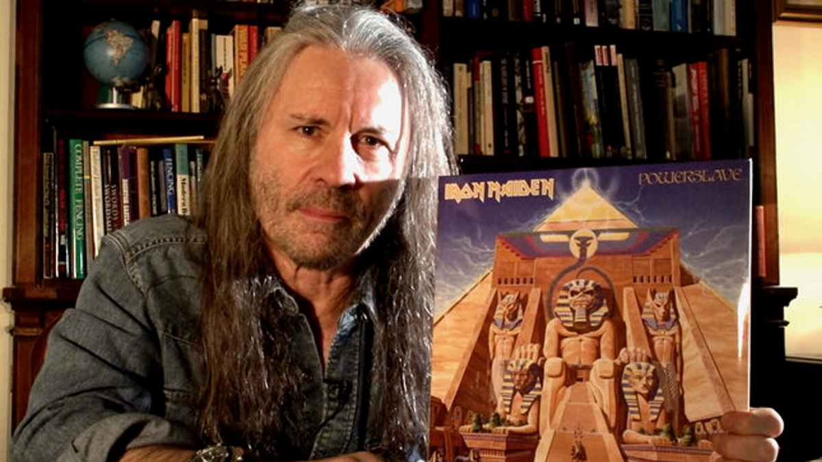 Iron Maiden Singer To Host Online Powerslave Listening Party