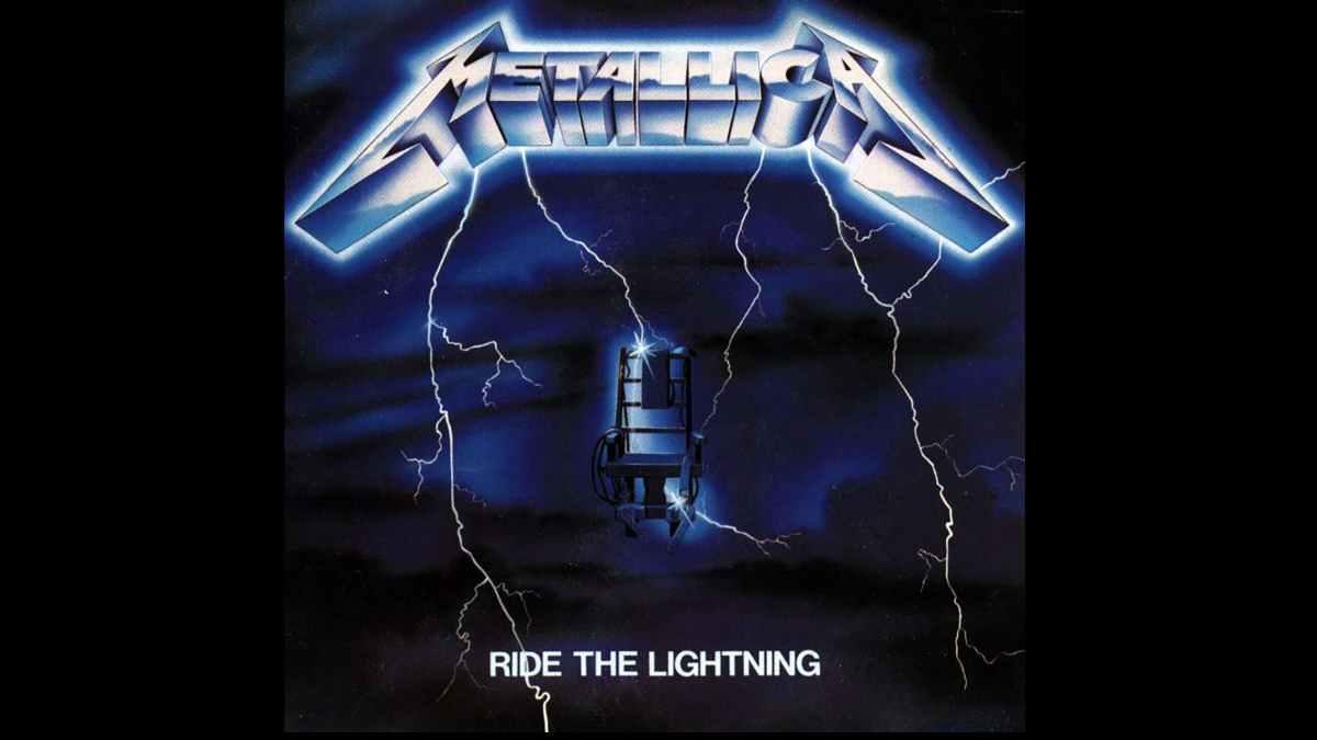 Ride The Lightning cover art