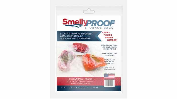 SmellyProof storage bags