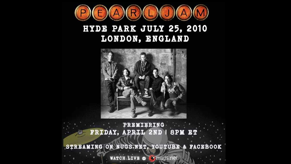 Pearl Jam event promo