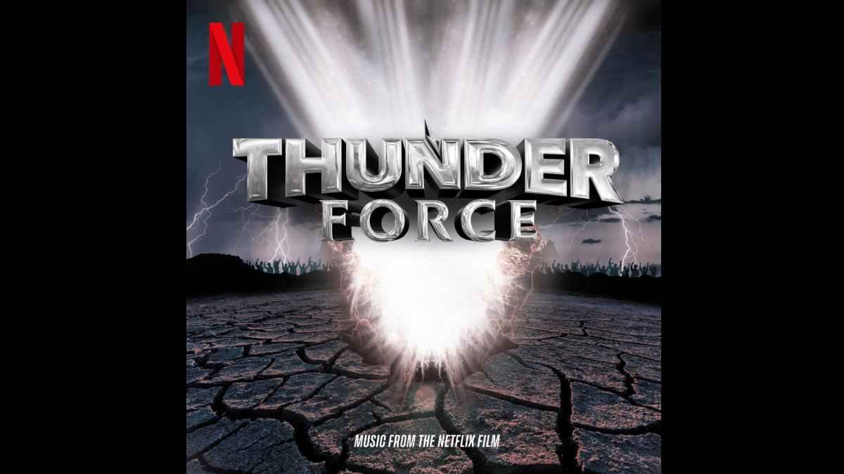 Thunder Force soundtrack album cover art