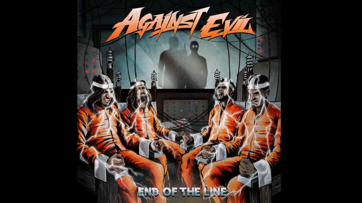 Against Evil album cover art