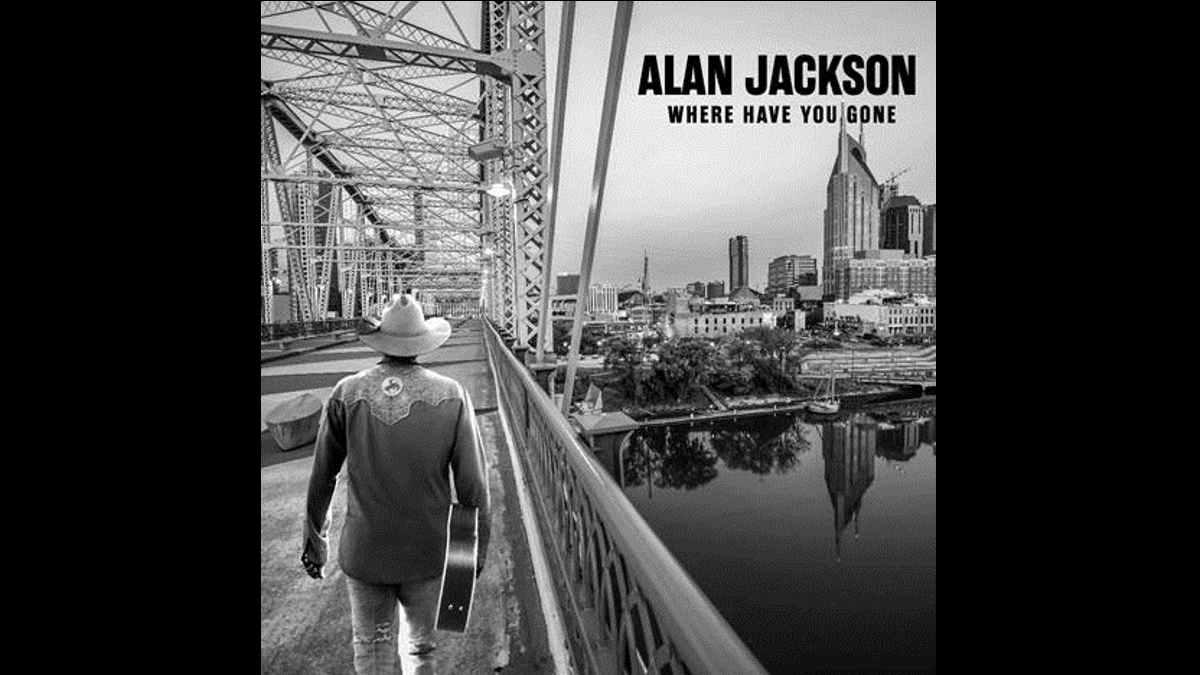 Alan Jackson album cover art courtesy UMusic