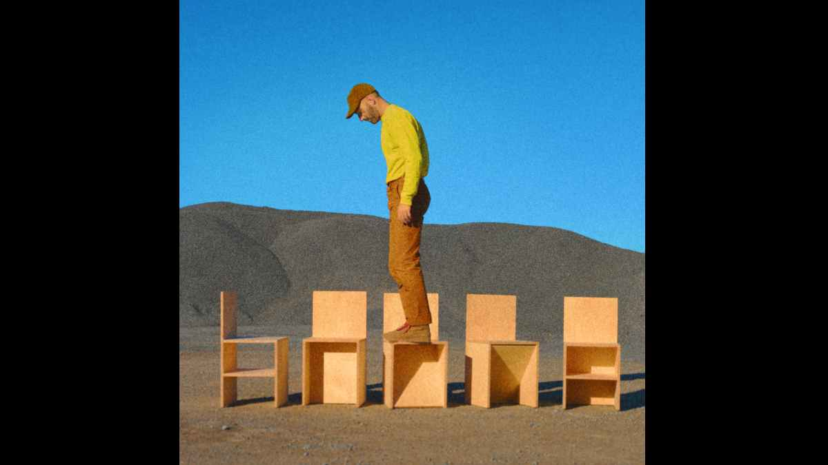 Mat Kearney album cover art courtesy Stunt Company