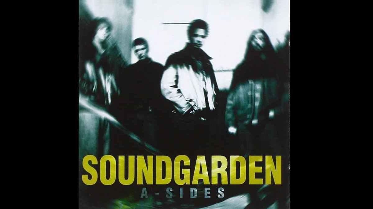 Soundgarden A Sides cover art