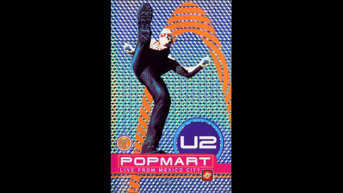 U2 concert poster