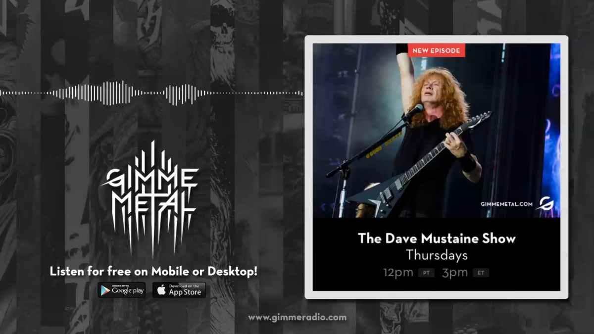 Megadeth still from show video