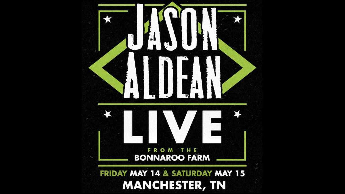 Jason Aldean event poster