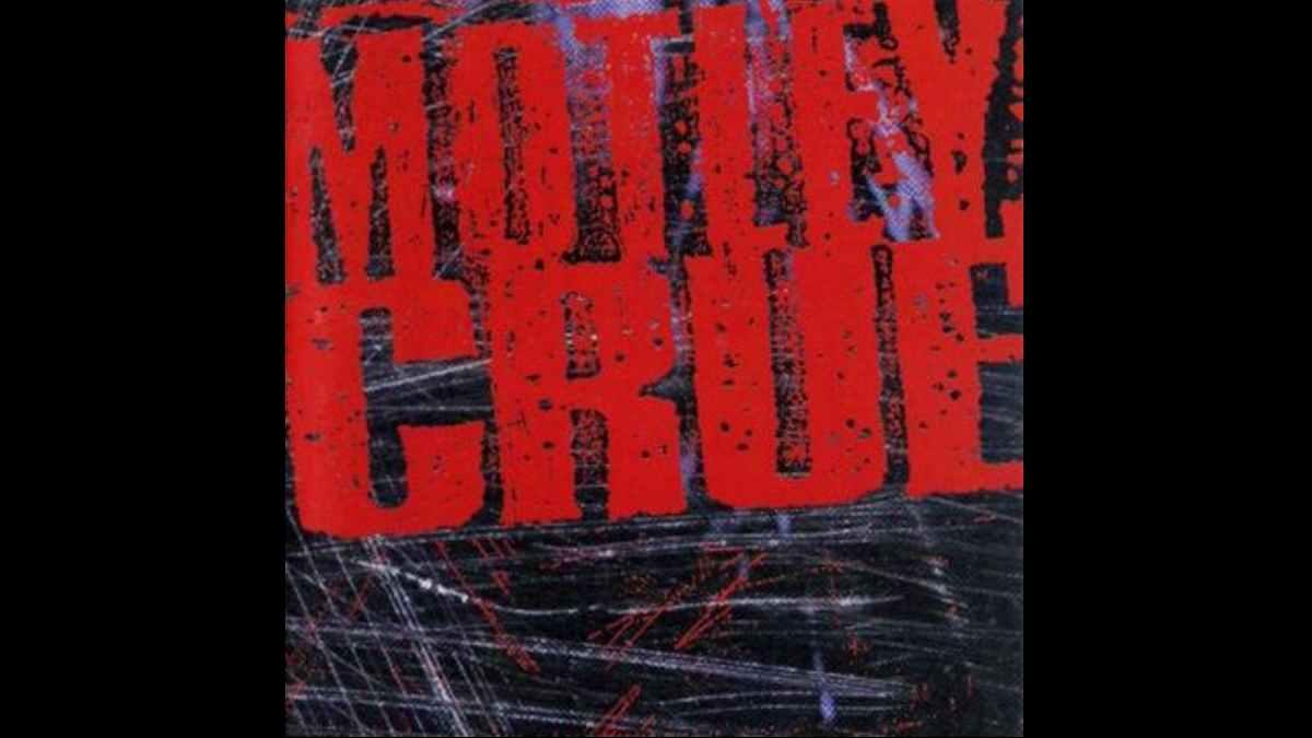 Motley Crue self-titled album cover art