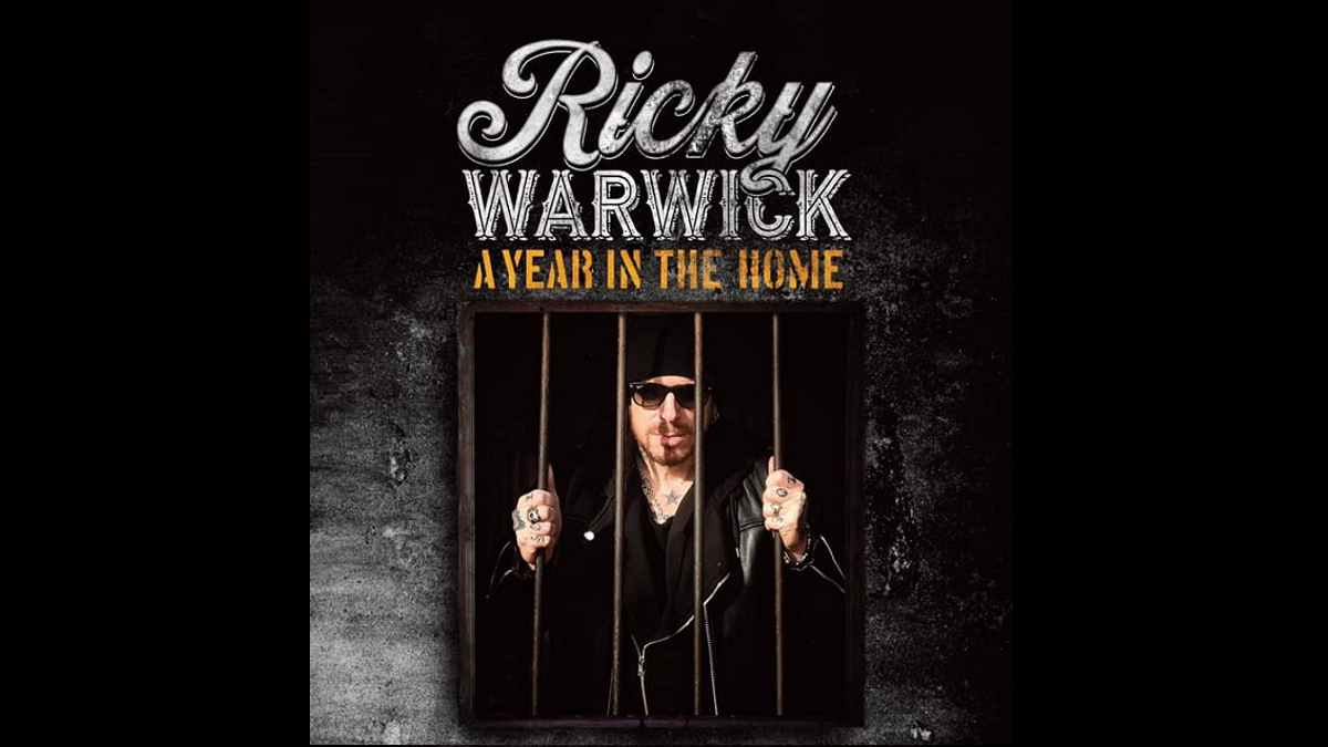 Ricky Warwick event poster