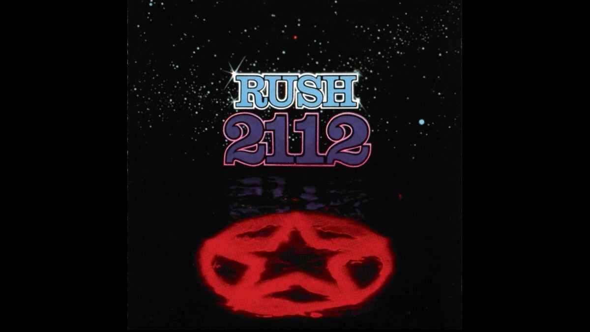 Rush 2112 Album cover art