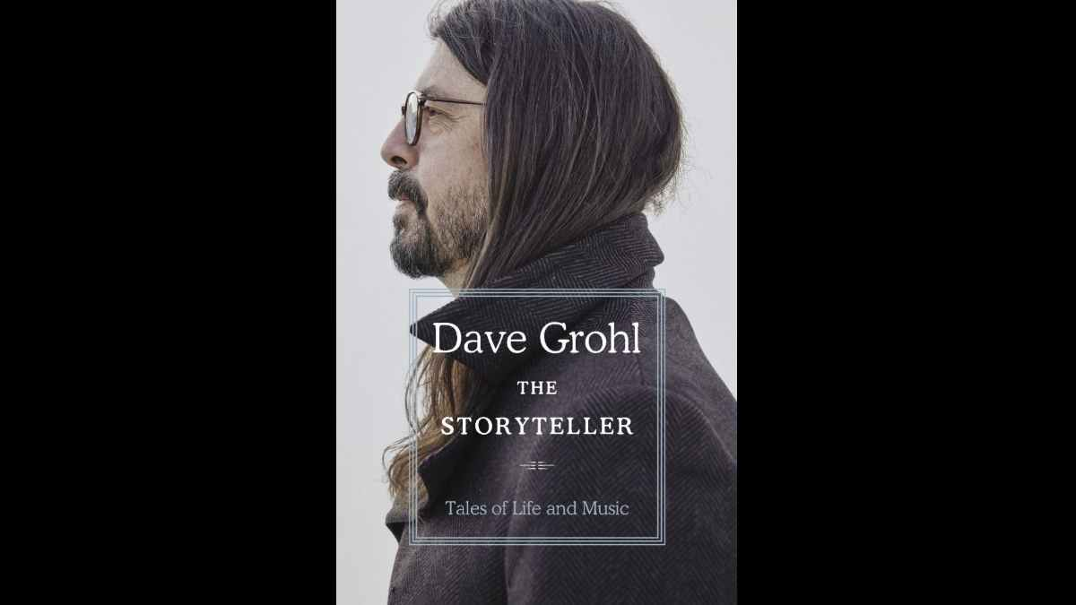 Dave Grohl book cover art courtesy Nasty Little Man