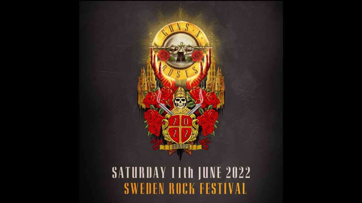 Guns N' Roses event poster