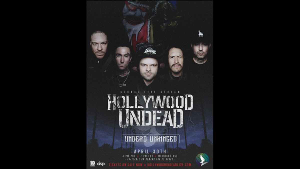 Hollywood Undead event poster
