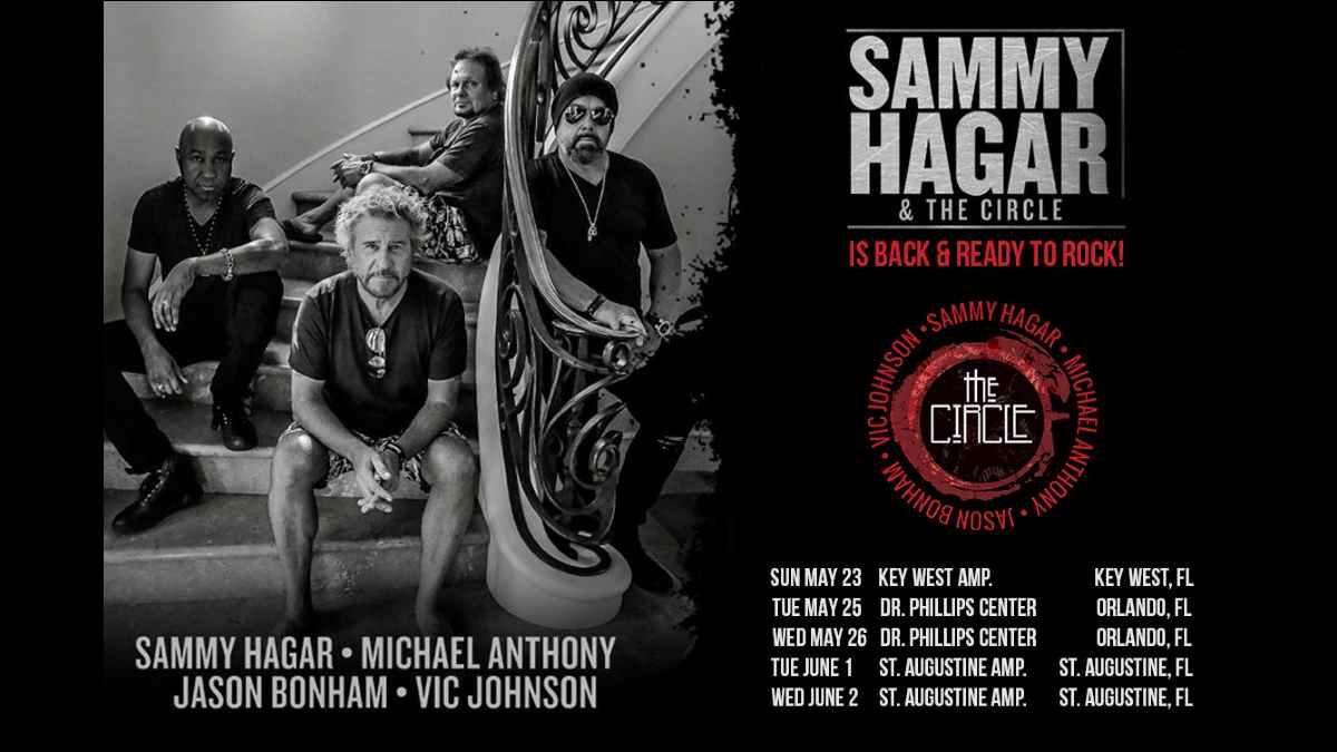 Sammy Hagar tour poster