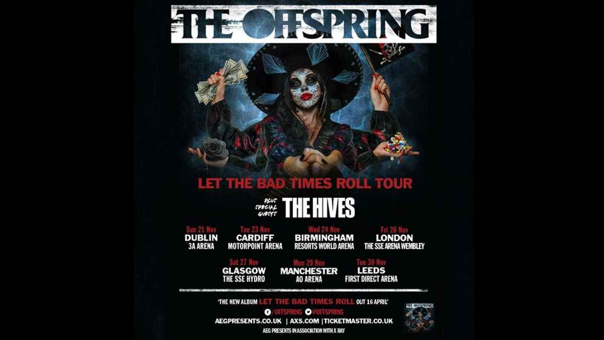 The Offspring tour poster