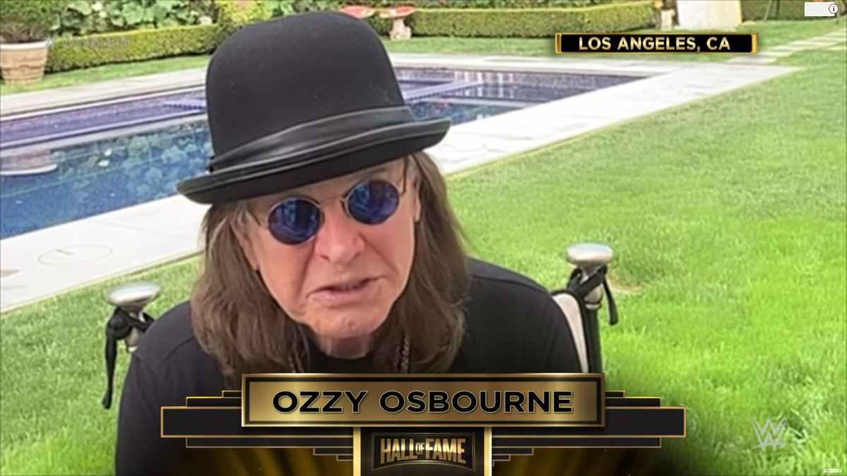 Ozzy Osbourne video still