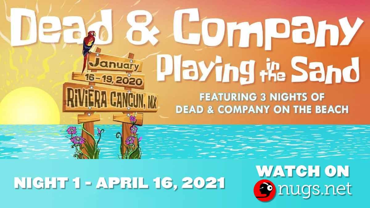 Dead Company event poster