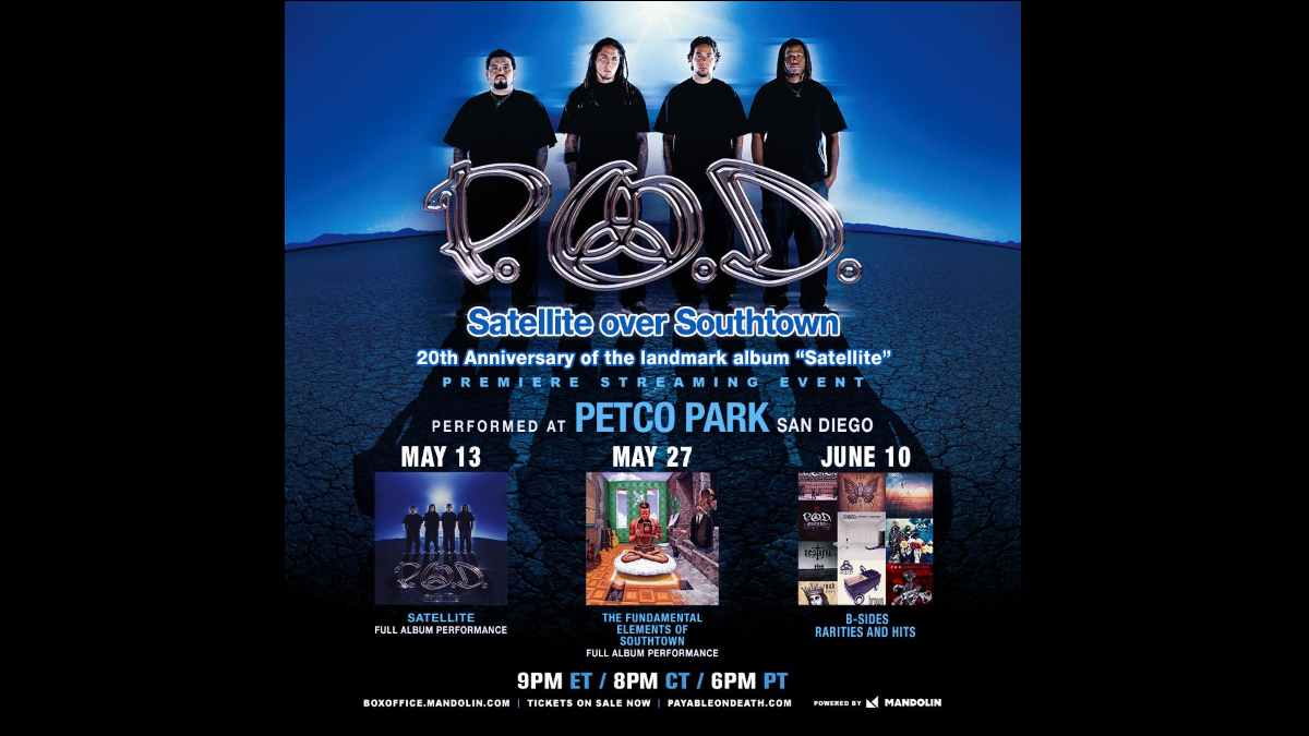 P.O.D. event poster