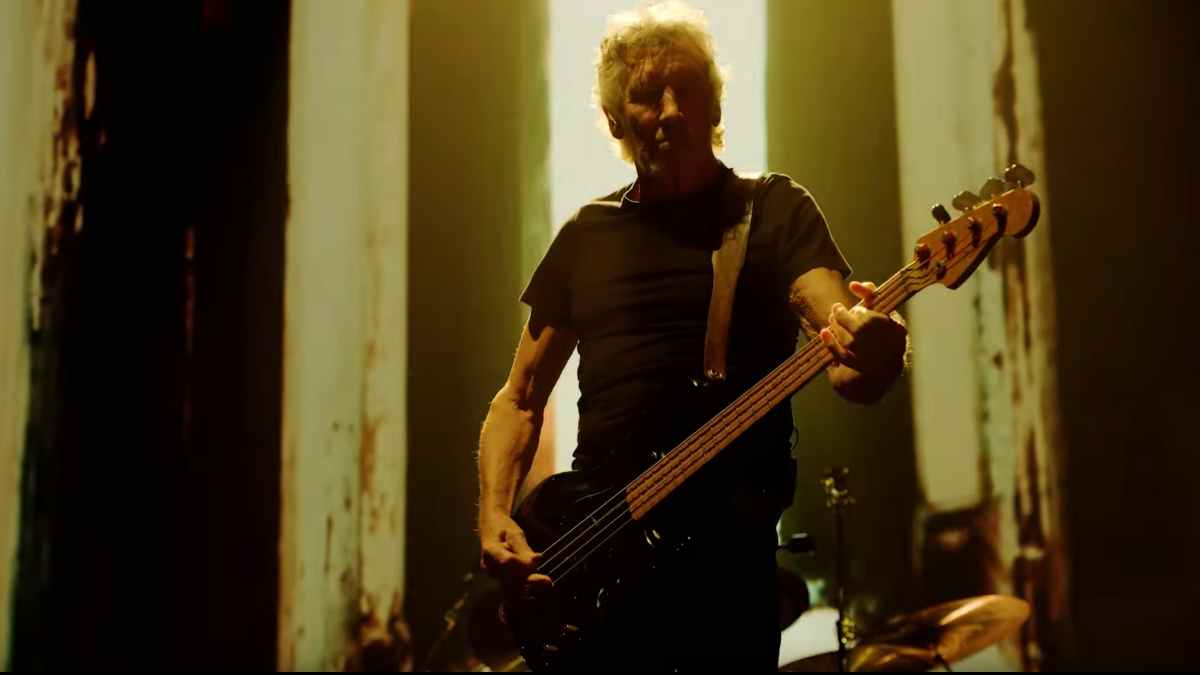 Roger Waters still from announcement video