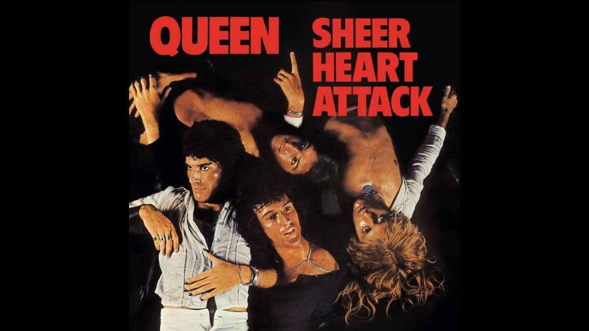 Queen Sheer Heart Attack cover art