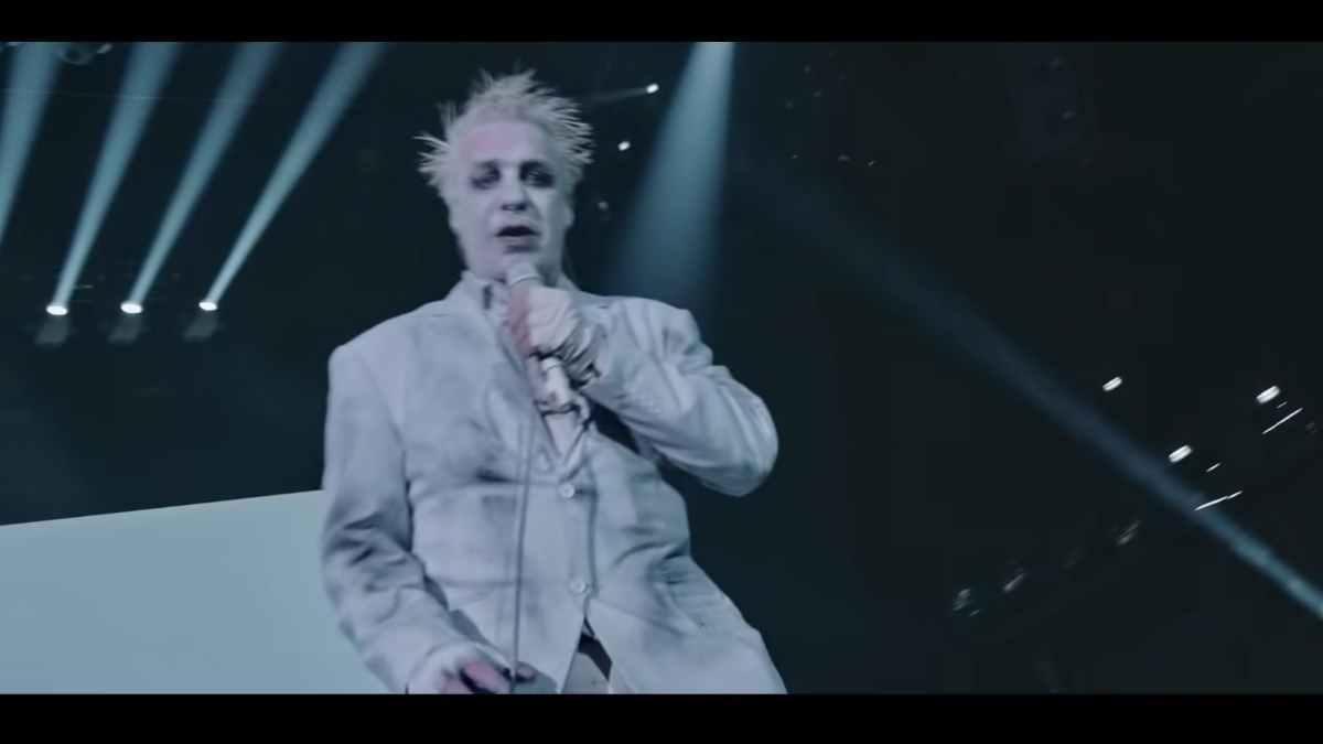 Lindemann still from the video