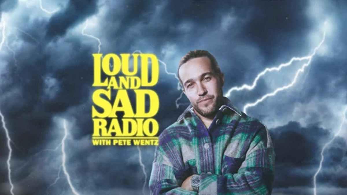 Pete Wentz show masthead
