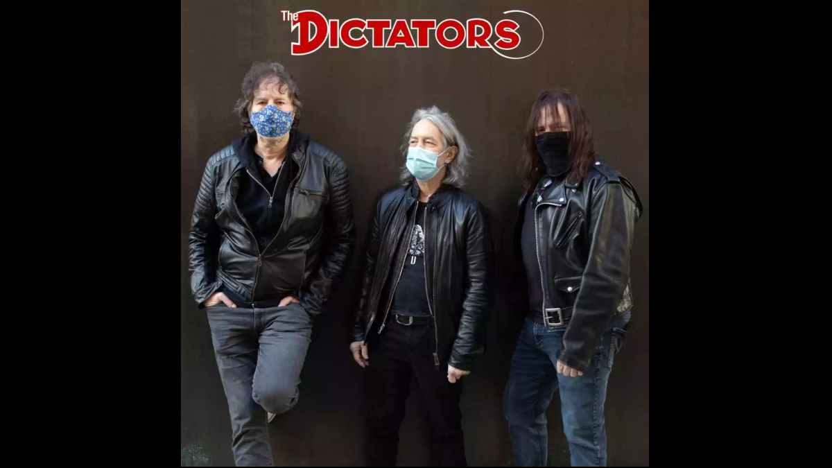 The Dictators Single art