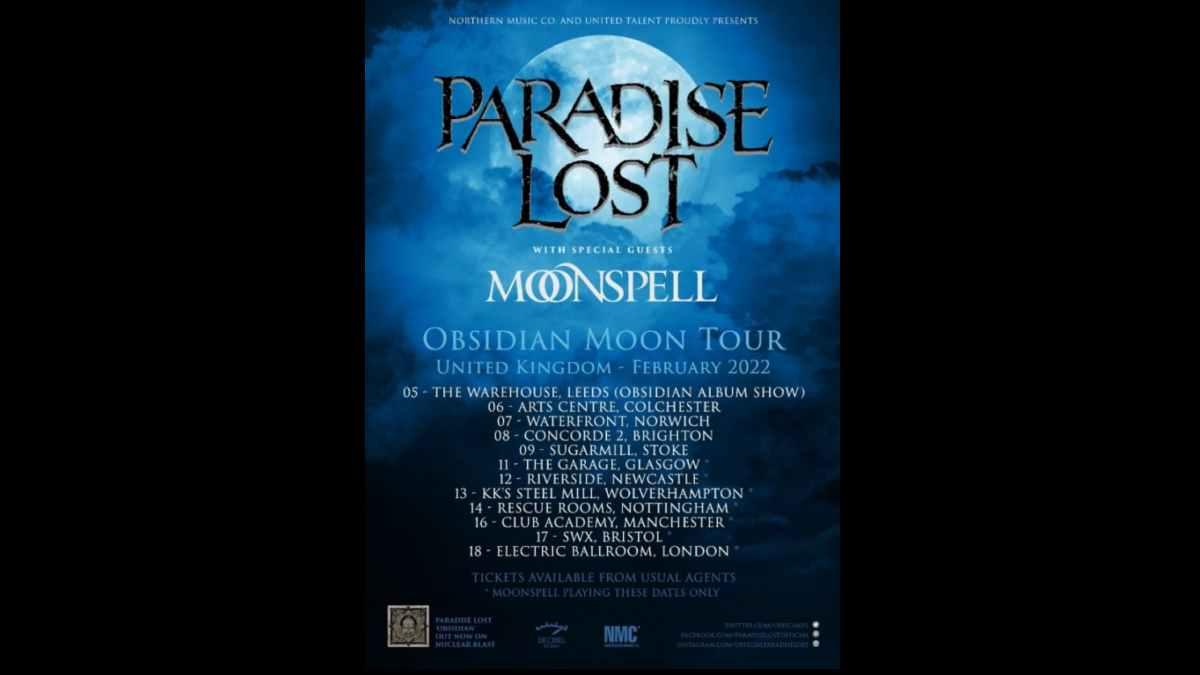 Moonspell tour poster