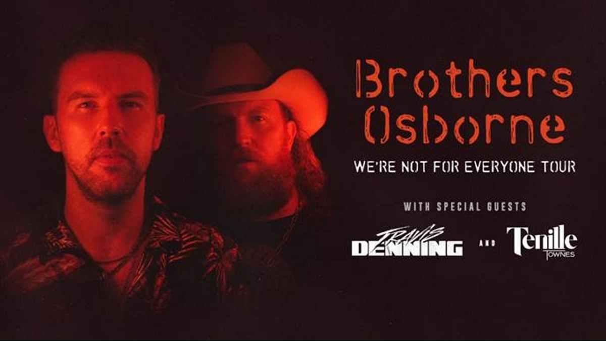 Brothers Osborne tour poster