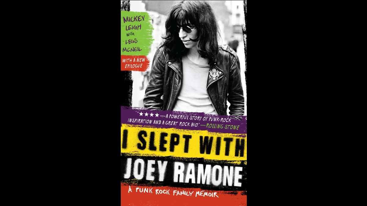 Ramones I Slept With Joey Ramone book cover art