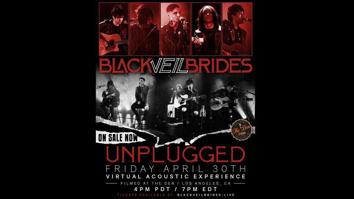 Black Veil Brides event poster