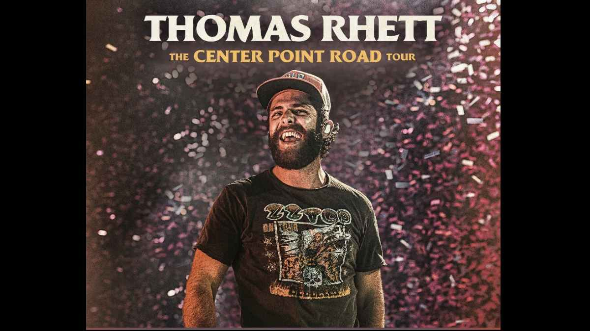 Thomas Rhett tour poster