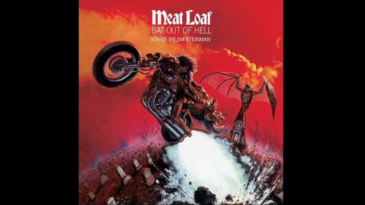 Jim Steinman Bat Out Of Hell cover art