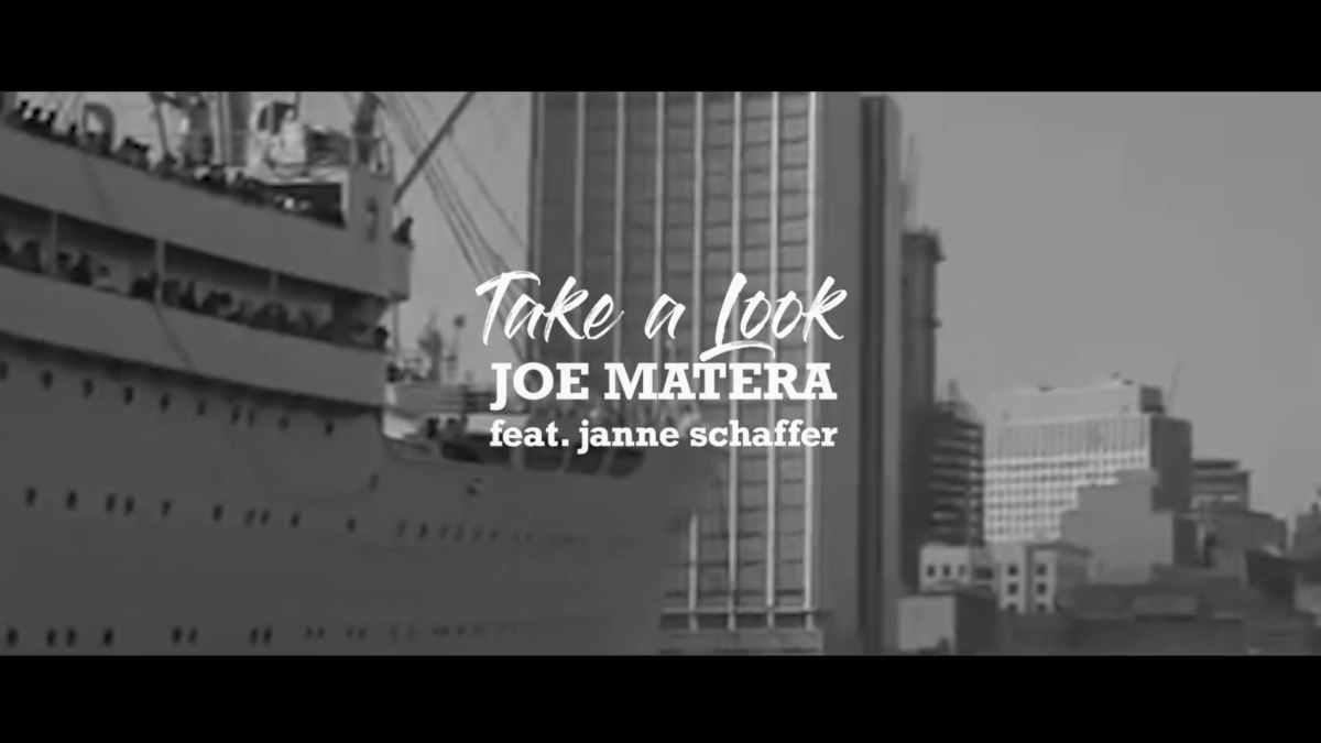 Joe Matera still from the music video
