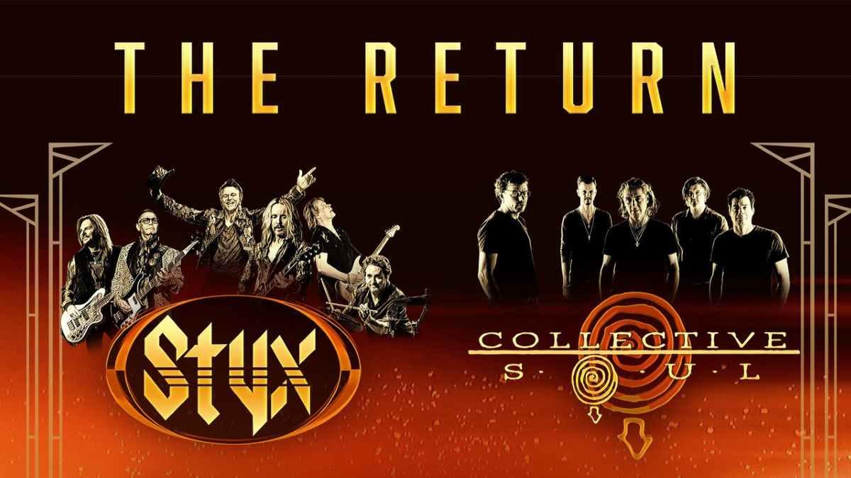 Styx tour poster