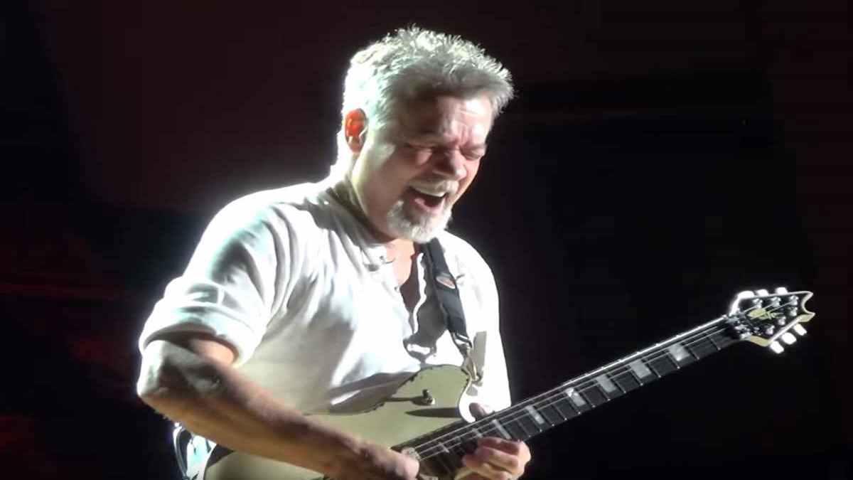 Van Halen YouTube video capture