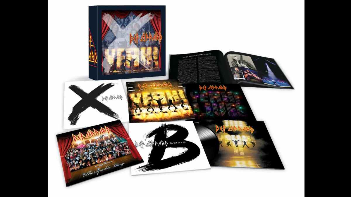 Def Leppard box set promo