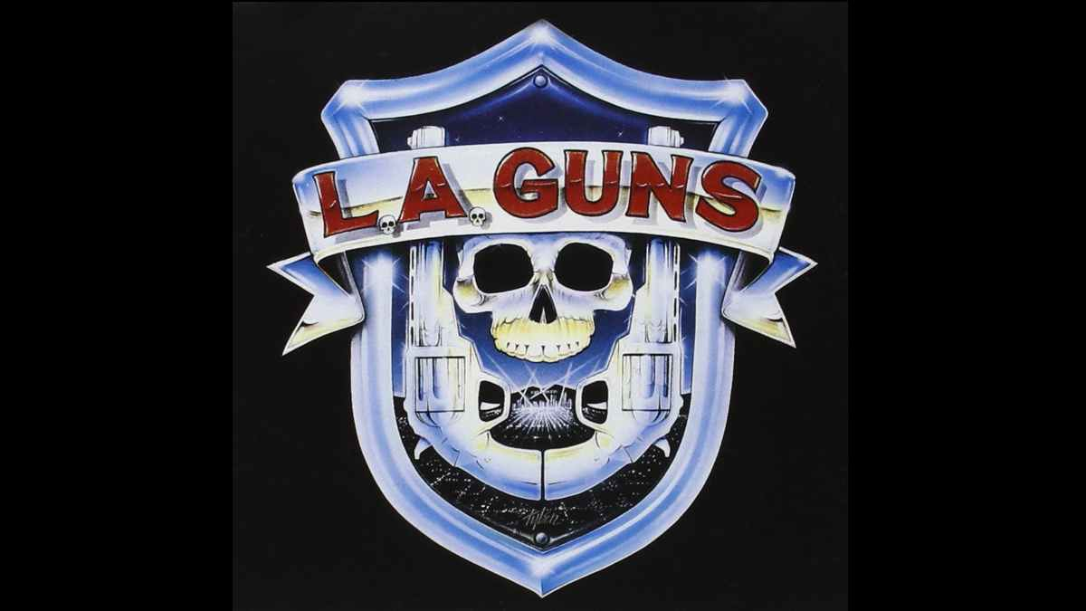 LA Guns debut album cover art