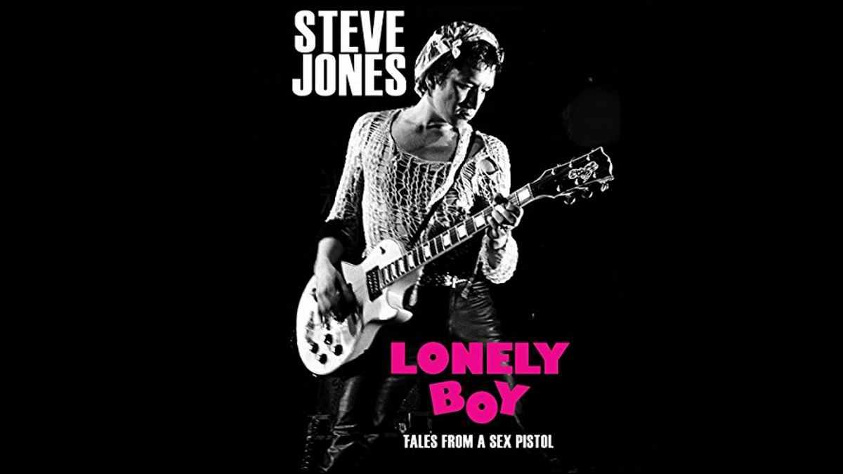 Sex Pistols Steve Jones biography cover art