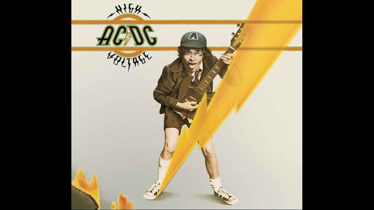 AC/DC album cover art