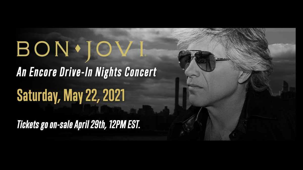 Bon Jovi screenshot of event's webpage