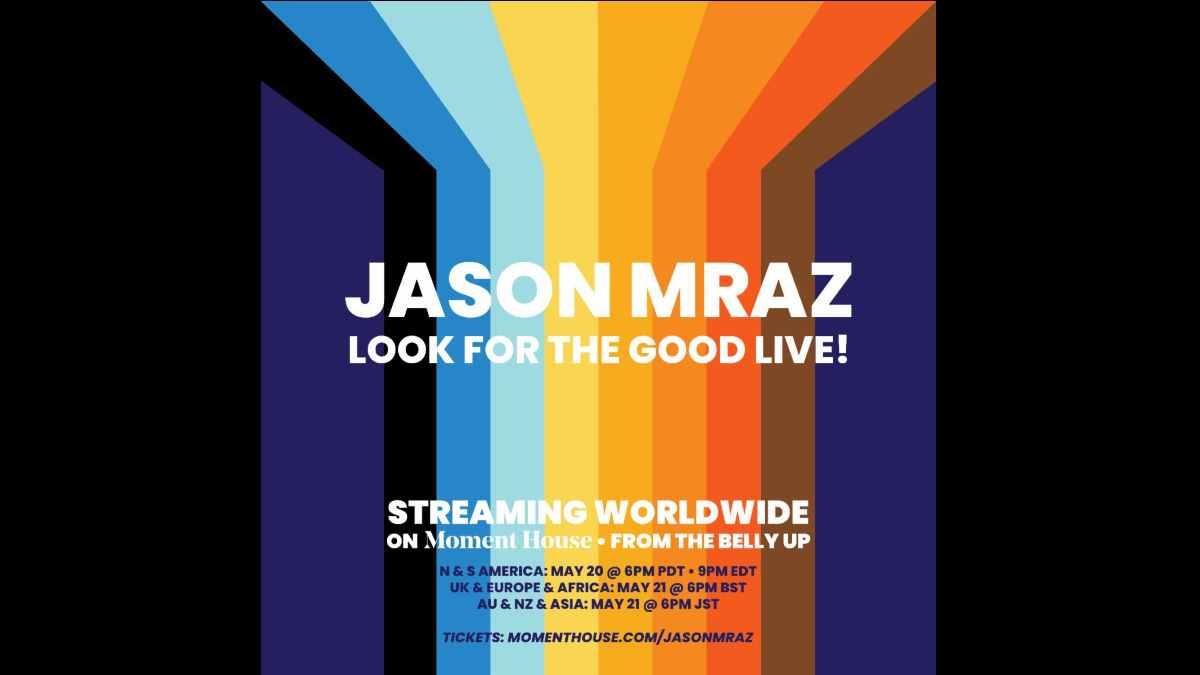 Jason Mraz event poster