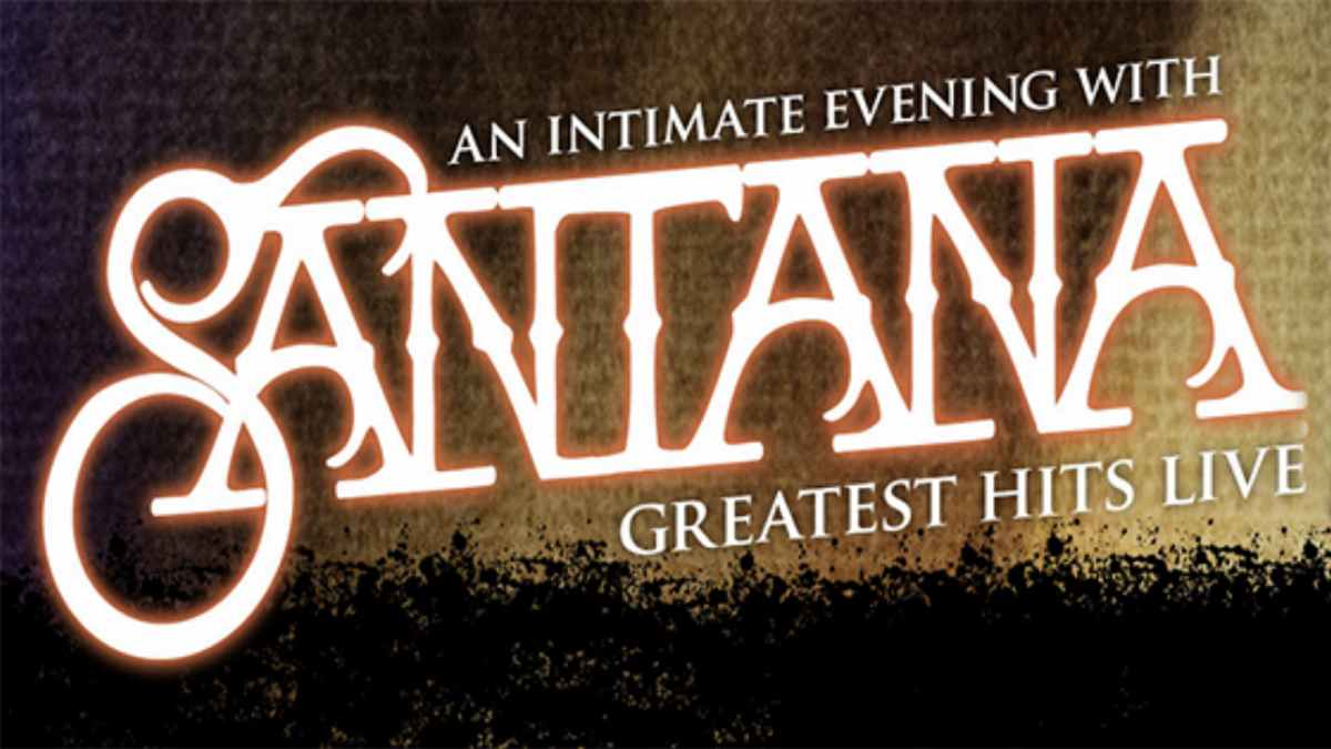 Santana residency poster