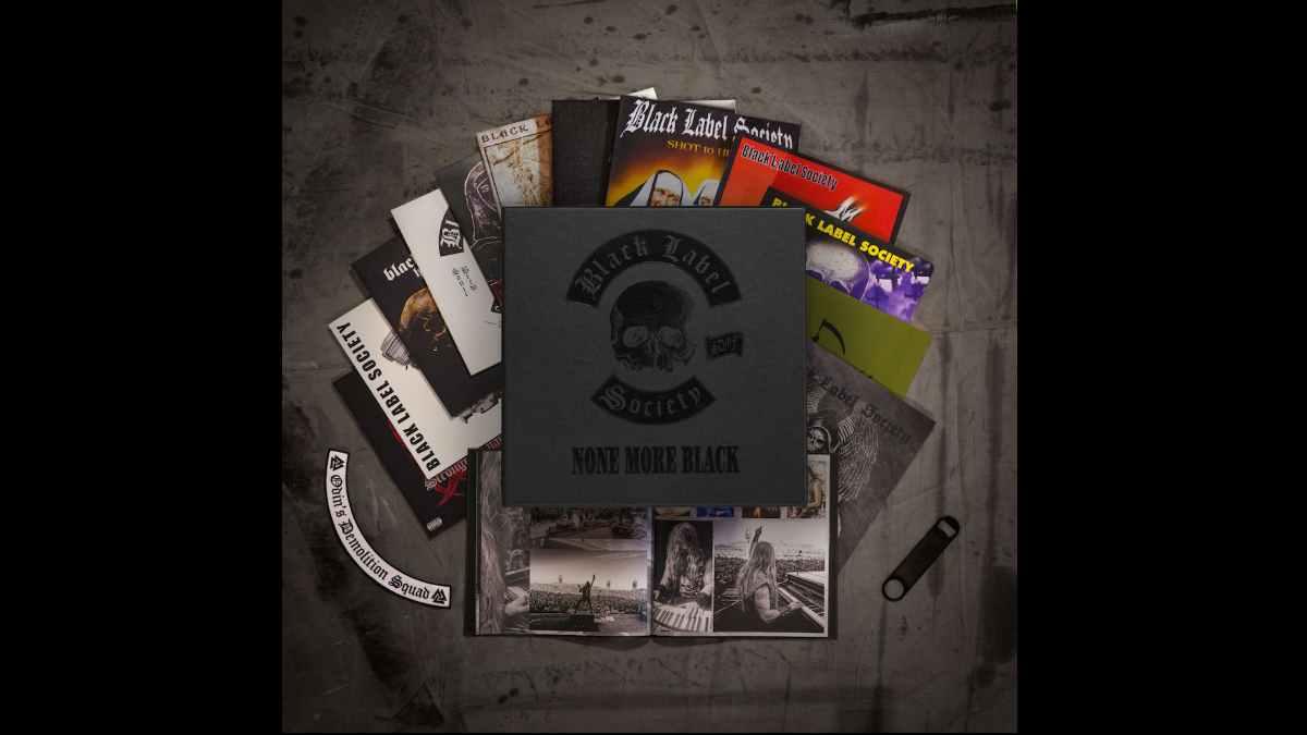 Black Label Society box set promo photo