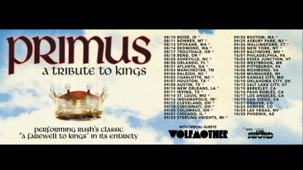 Primus tour poster