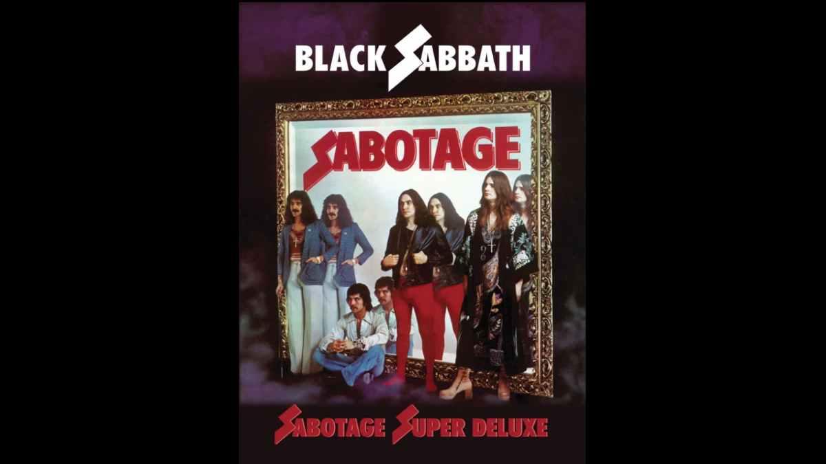 Black Sabbath cover art