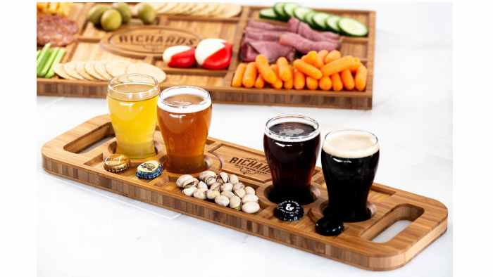 Left Coast Original beer board