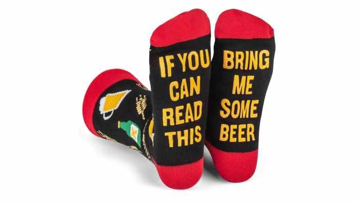 Lavley beer socks