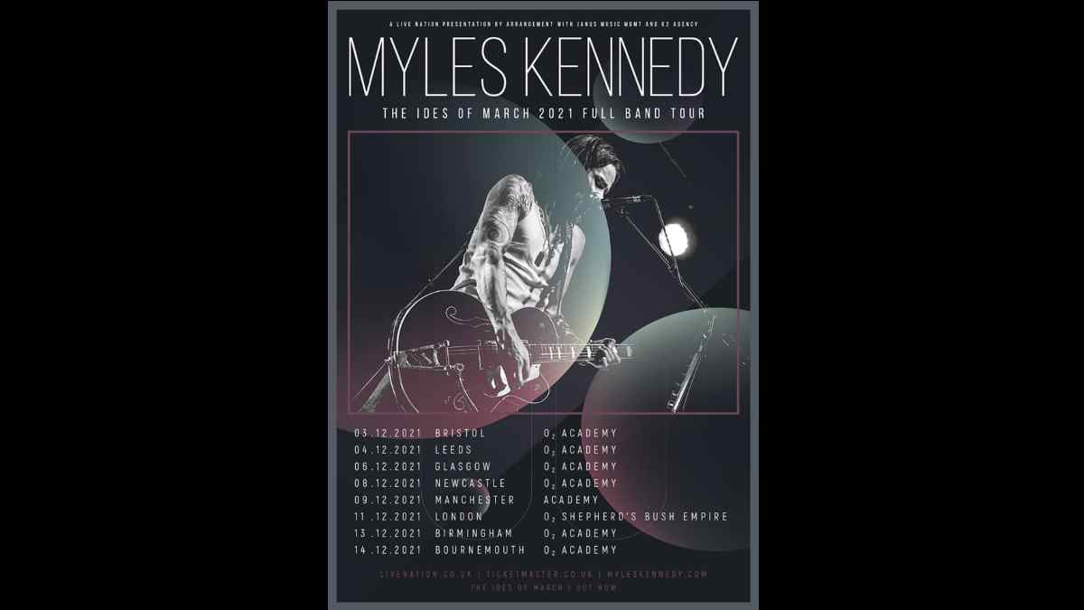 Myles Kennedy Announces The Ides Of March UK Tour